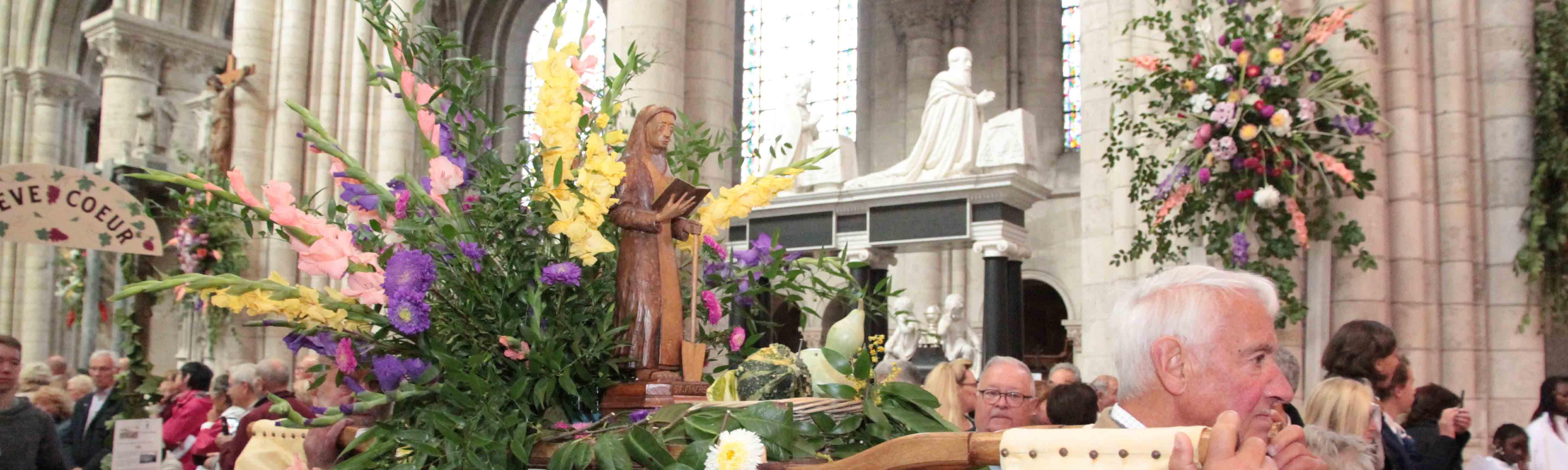 La fête de Saint-Fiacre à Sens, un